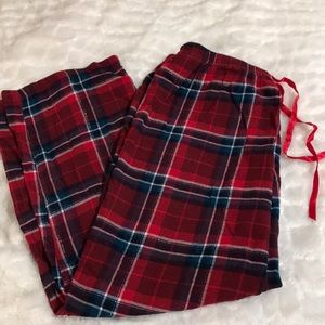 Flannel pajama bottoms